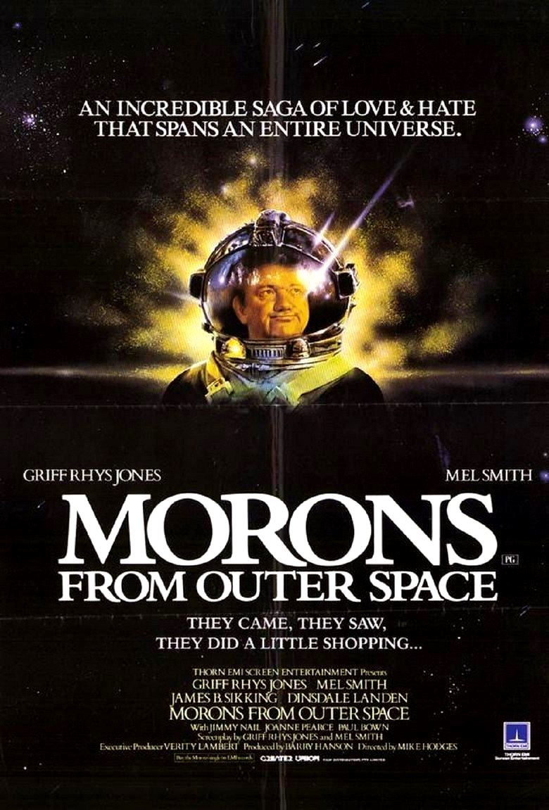 Morons from Outer Space (1985) poster