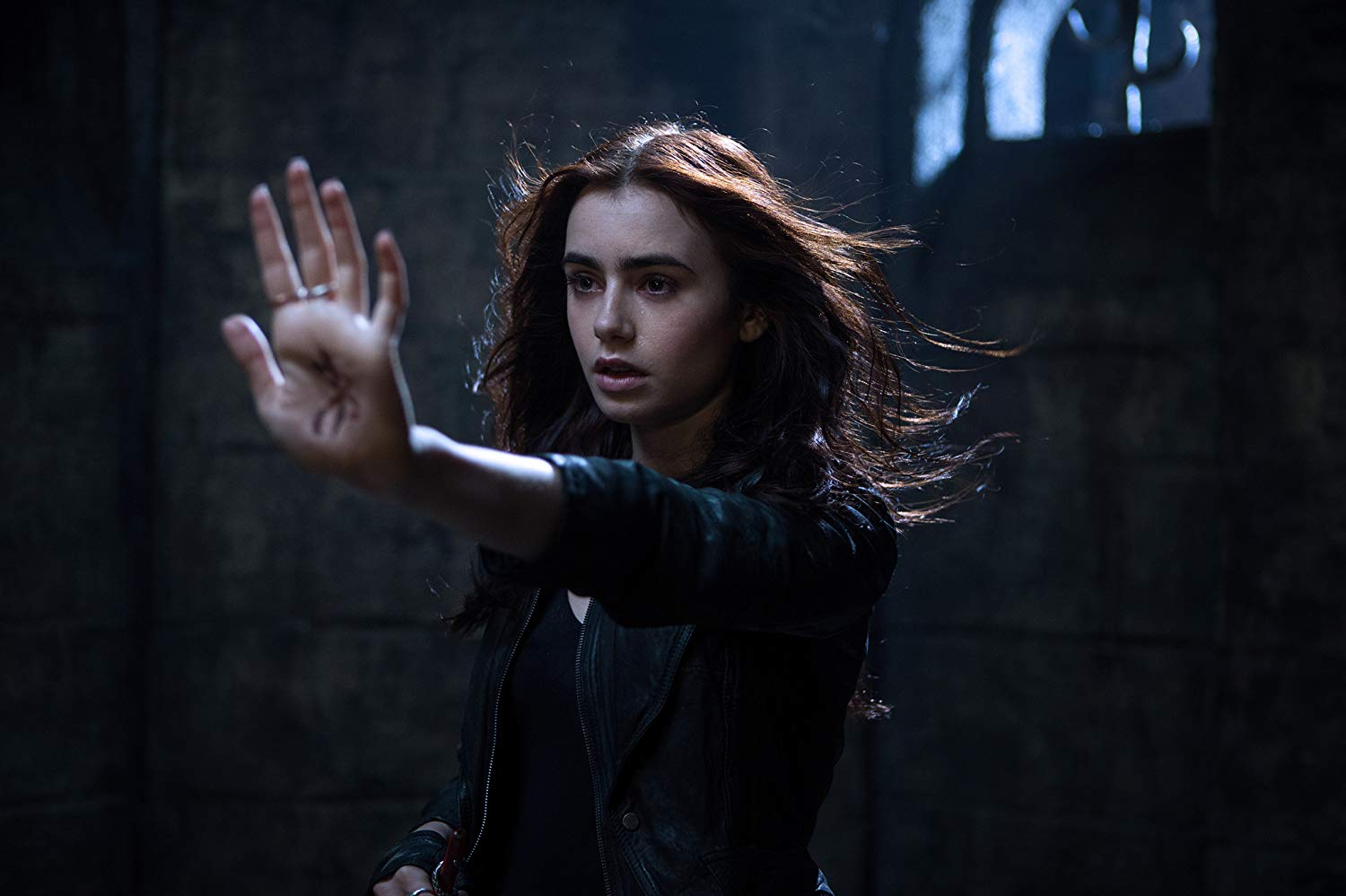 Lily Collins as Clary Fray in The Mortal Instruments: City of Bones (2013)