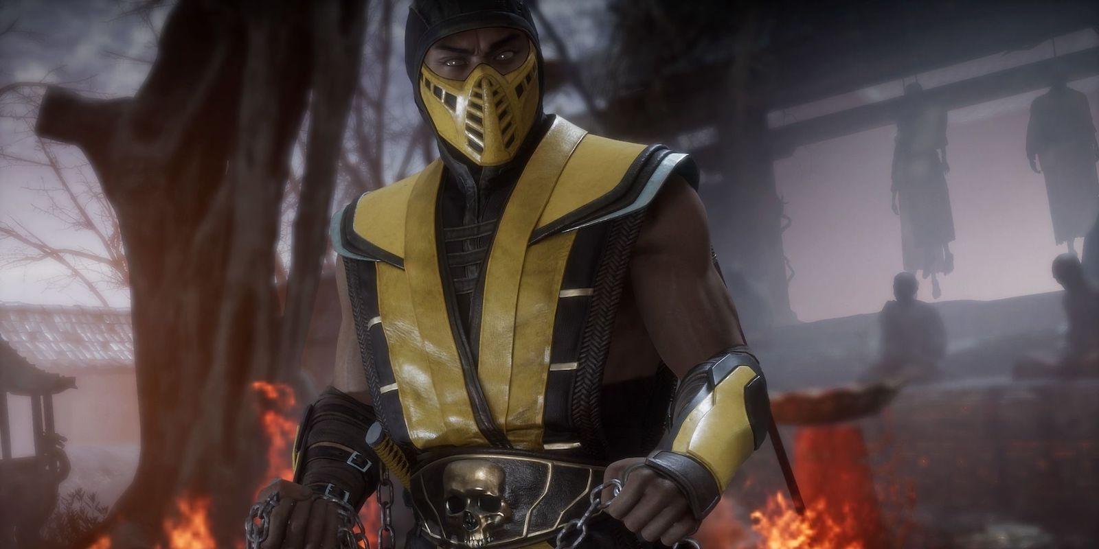 Hiroyuki Sanada as Scorpion in Mortal Kombat (2021)
