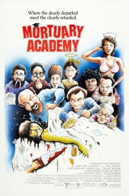 Mortuary Academy (1988) poster