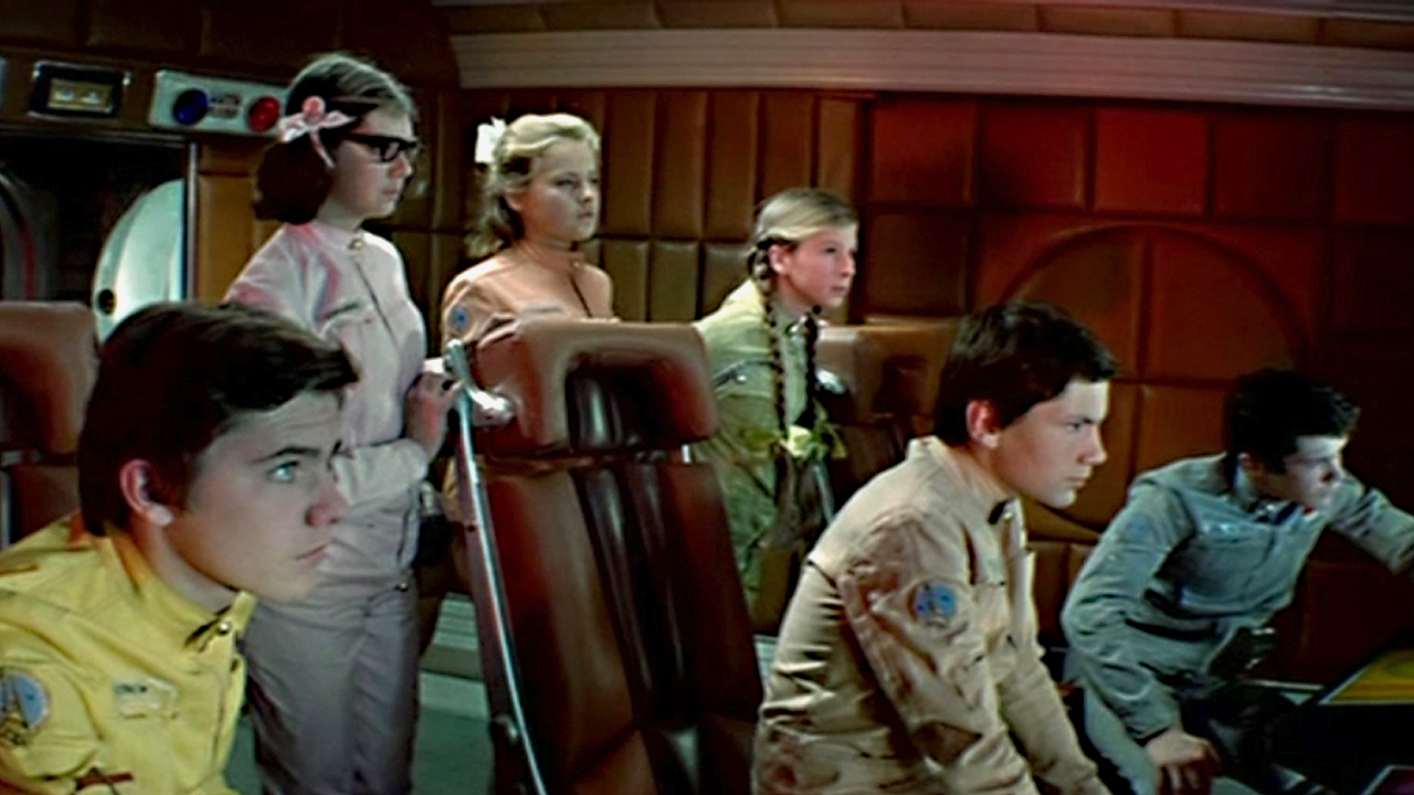 Teenagers on a space expedition in Moscow-Cassiopeia (1973)
