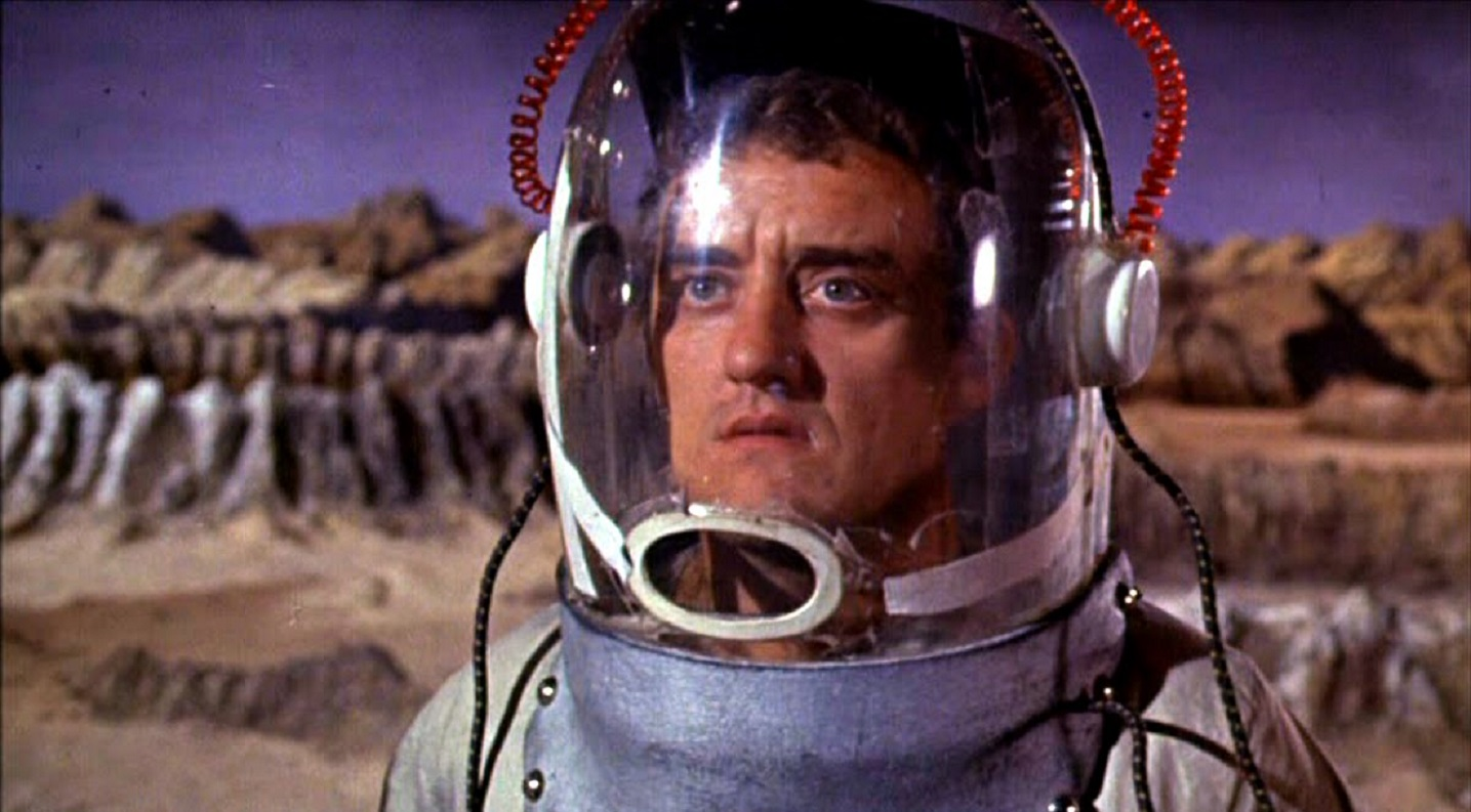 Bernard Cribbins on The Moon in Mouse on the Moon (1963)