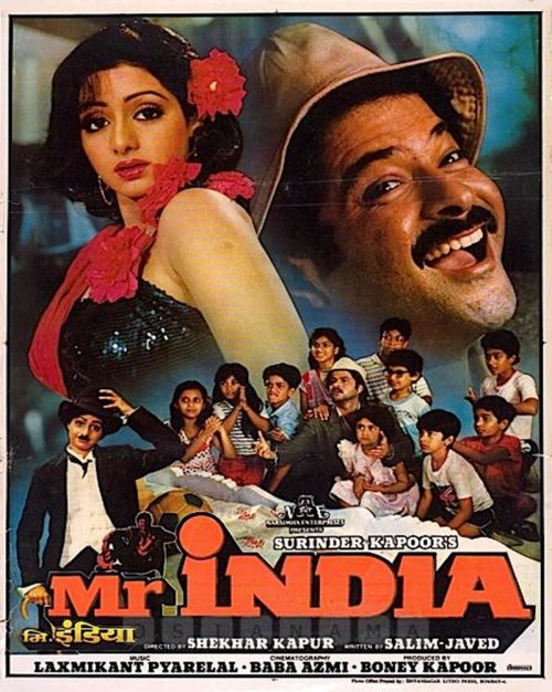 Mr India (1987) poster