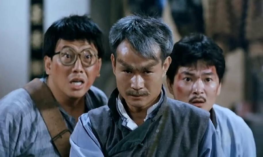 Billy Lau, Lam Ching-Ying and Yun-Sheng Pan in Mr Vampire III (1987)