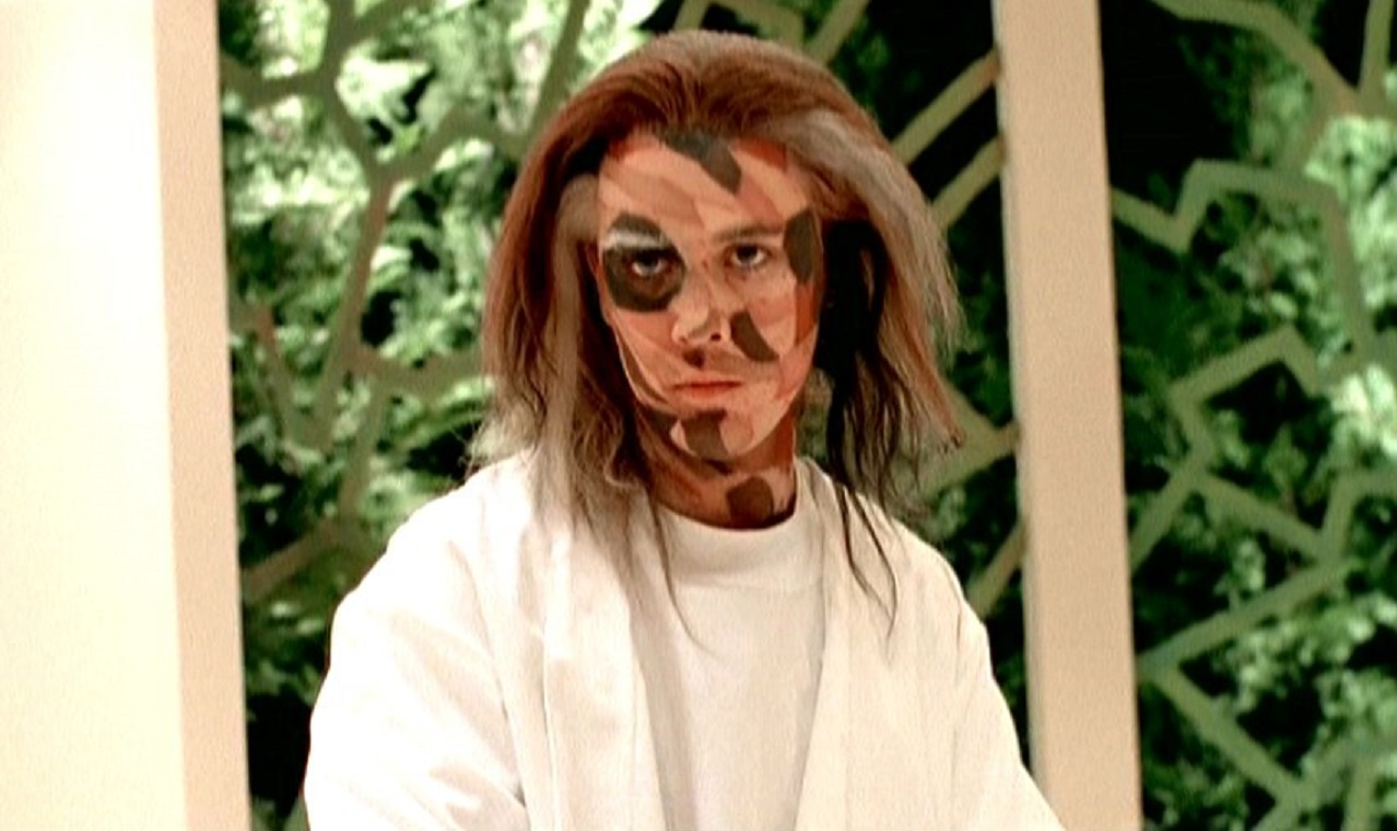 Wil Wheaton as the patchwork Frankenstein creation Lazarus in Mr. Stitch (1995)