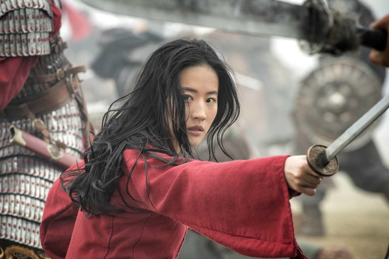 Yifei Liu as Mulan (2020)