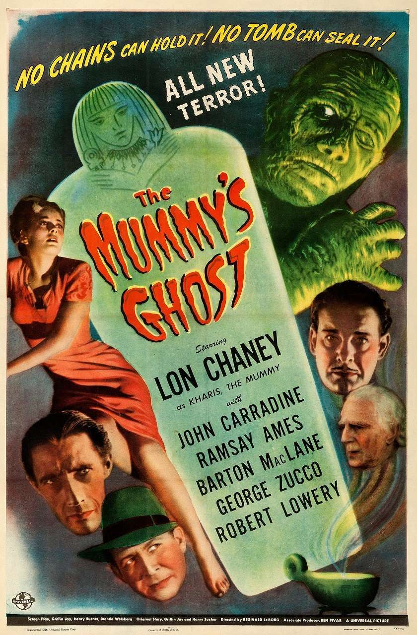The Mummy's Ghost (1944) poster
