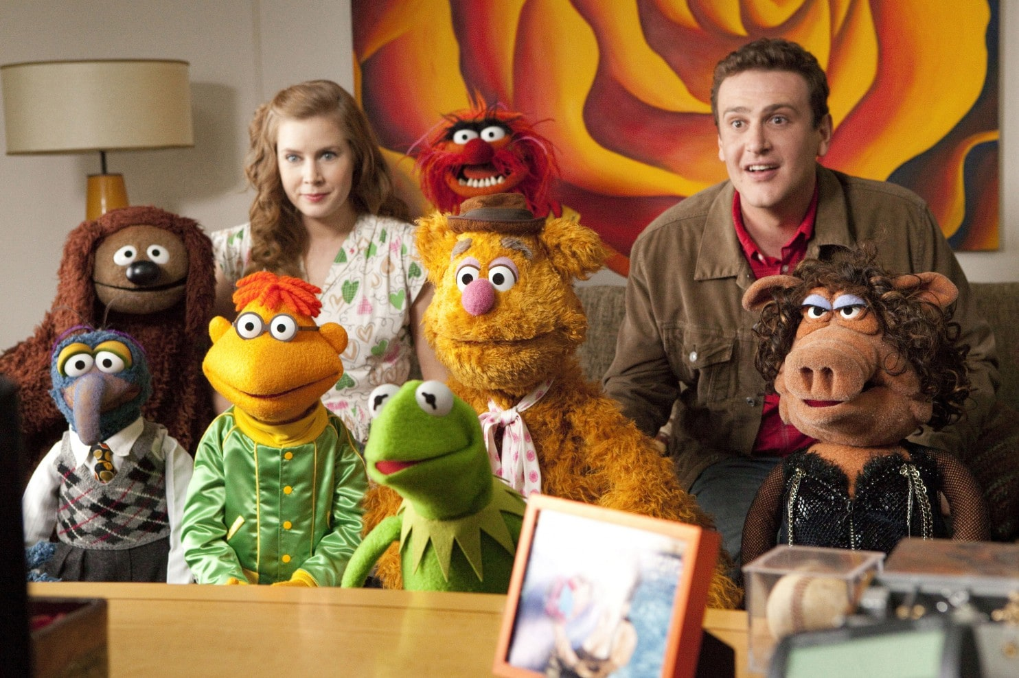 The Muppets back on the big screen along with Amy Adams and Jason Segel in The Muppets (2011)