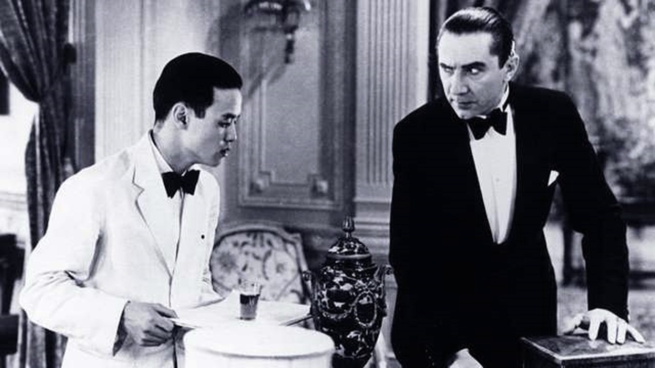 Bela Lugosi and Allan Jung in Murder By Television (1935)