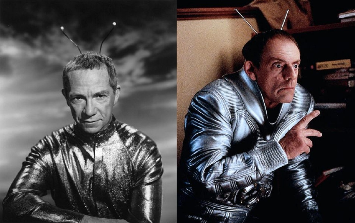 Ray Walston as Uncle Martin (1963-6) vs Christopher Lloyd as Uncle Martin in My Favorite Martian(1999)