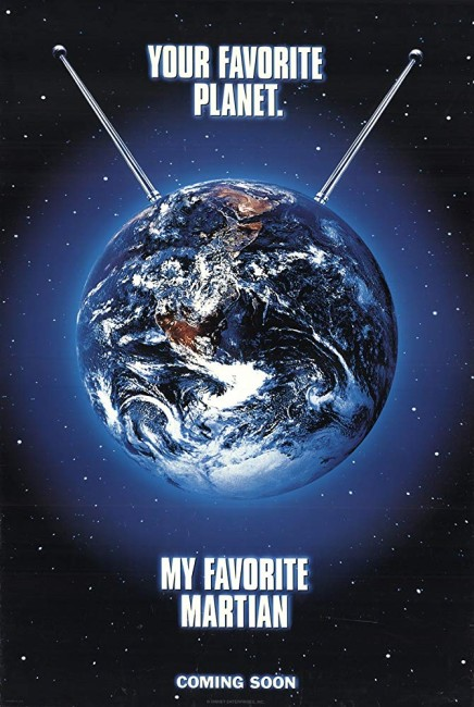 My Favorite Martian (1999) poster