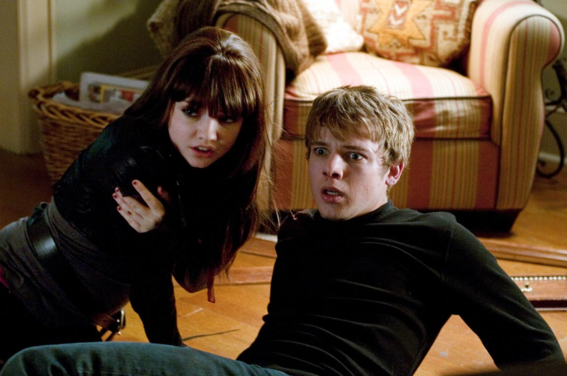Max Theriot and sister Emily Meade in My Soul to Take (2010)