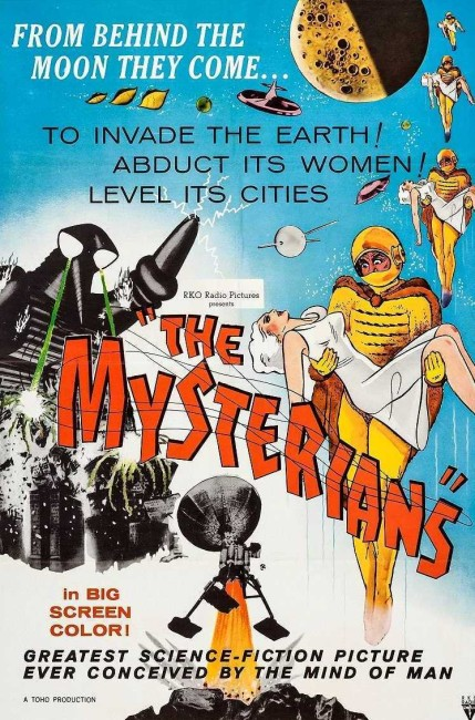 The Mysterians (1957) poster