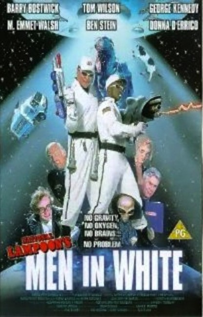 National Lampoon's Men in White (1998) poster