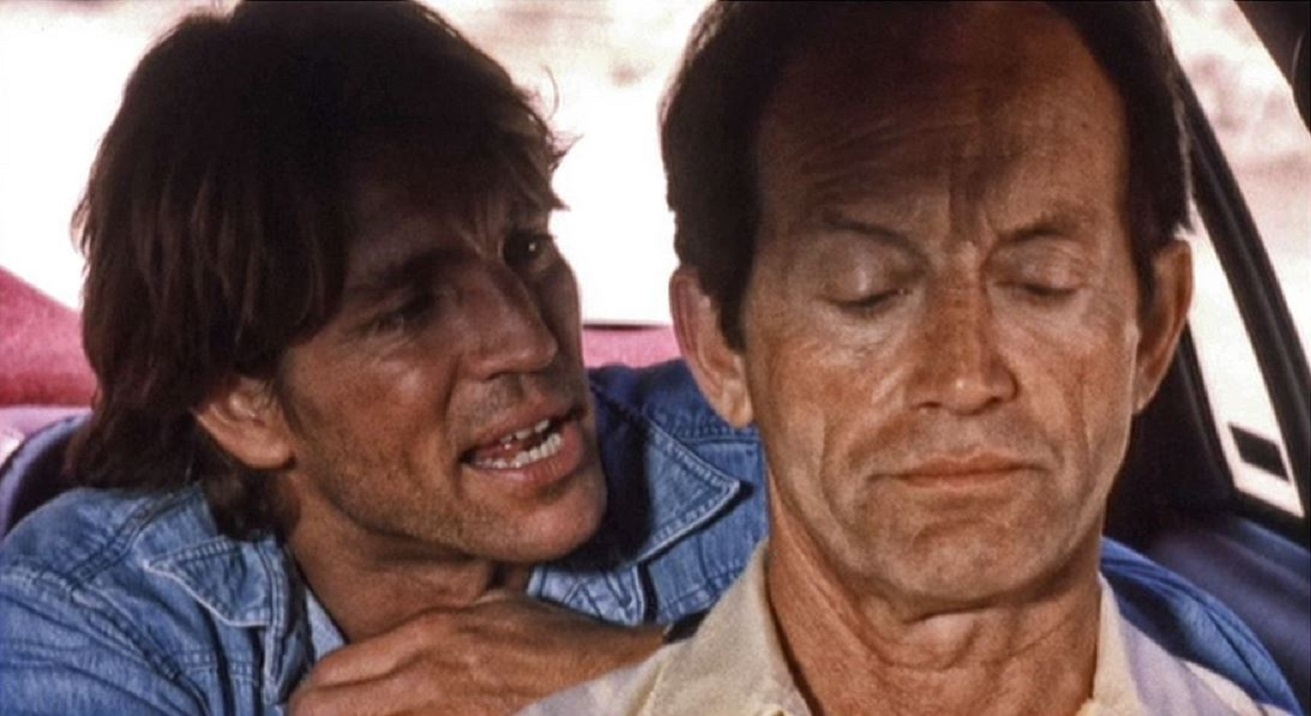 Eric Roberts, Lance Henriksen in The Nature of the Beast (1995)