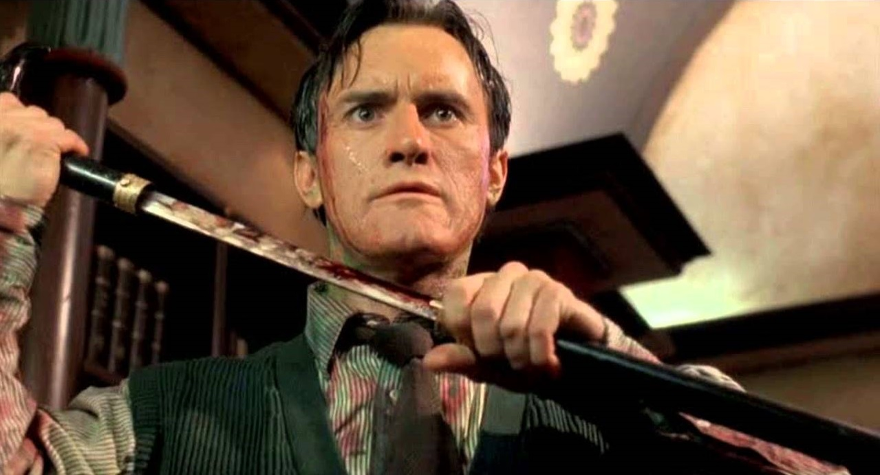 Jeffrey Combs as H.P. Lovecraft in Necronomicon (1993)