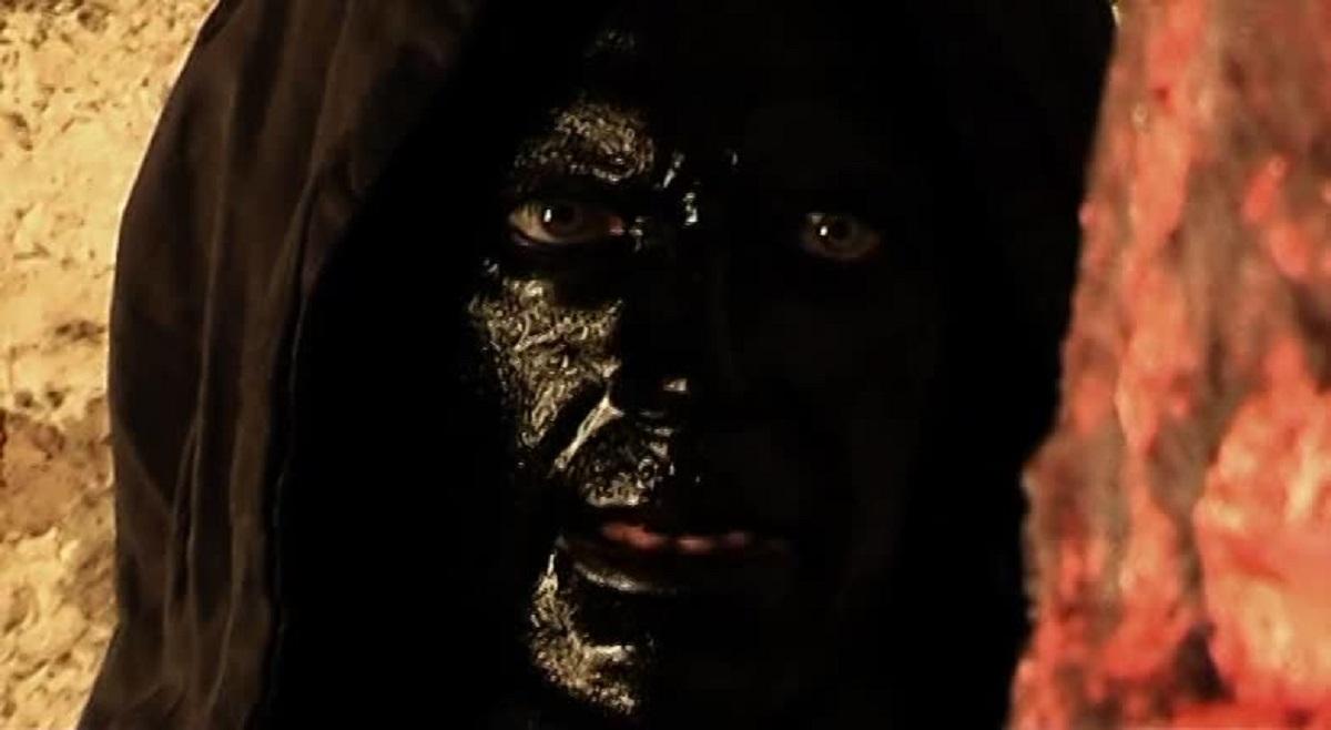 Thomas Sender as the resurrected sorcecer in Necronos (2010)