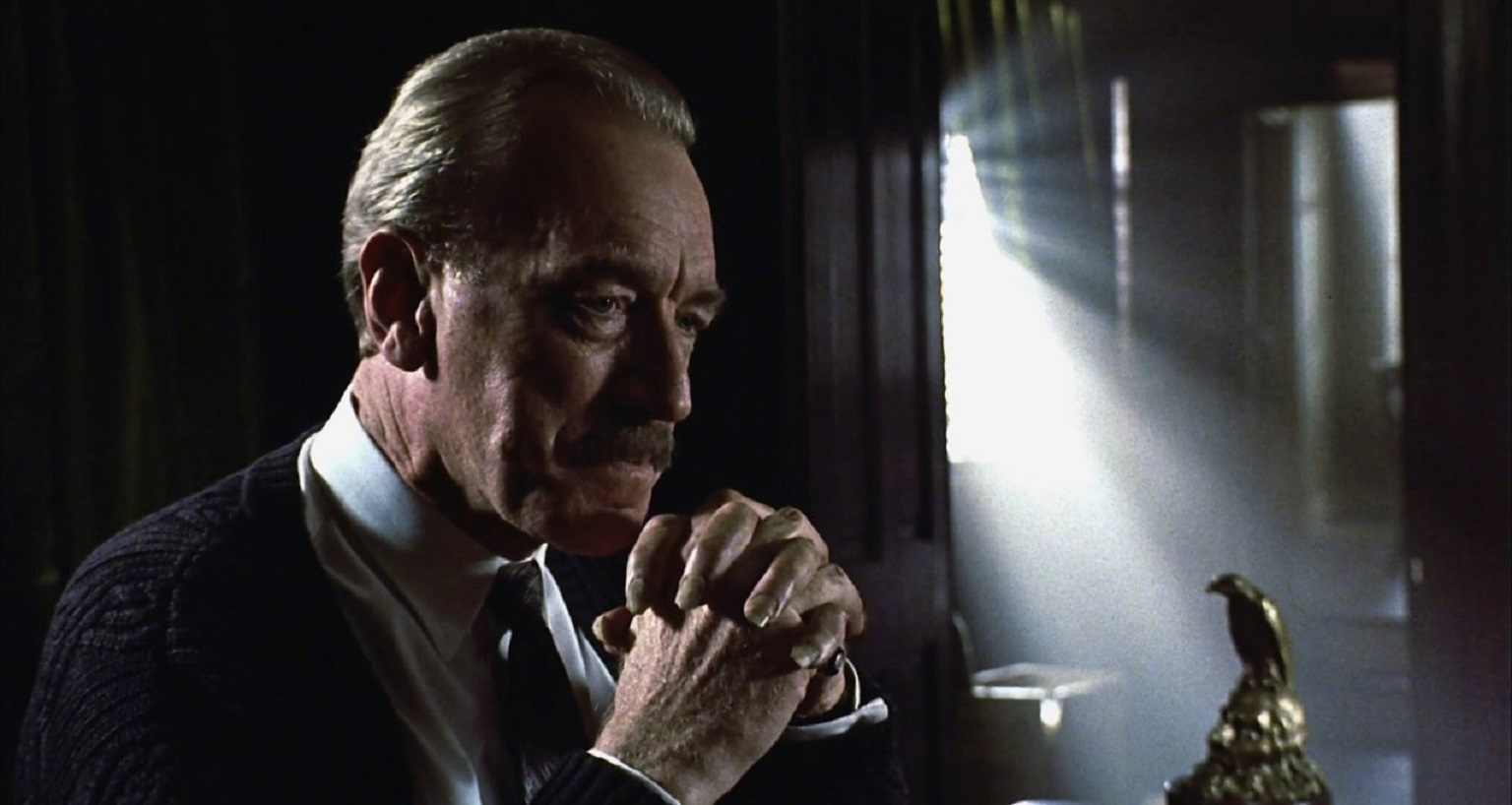 Max Von Sydow as Leland Gaunt in Needful Things (1993)