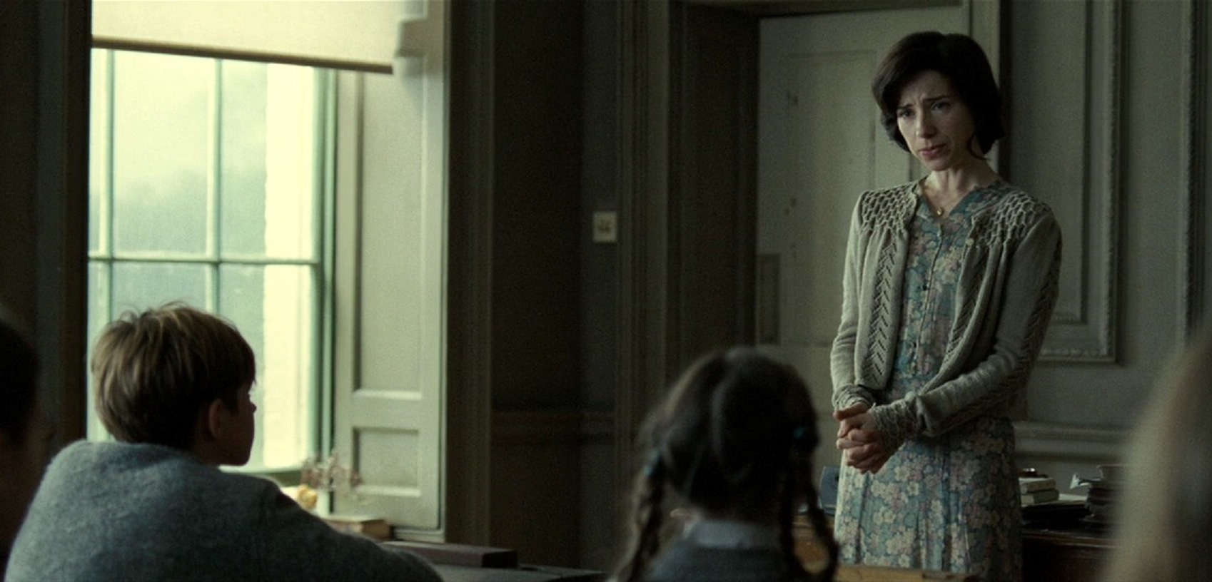 Teacher Sally Hawkins in Never Let Me Go (2010)