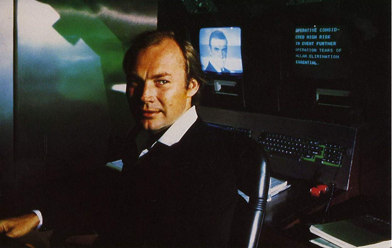 Klaus Maria Brandauer as Emilio Largo in Never Say Never Again (1983)