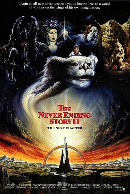 The Neverending Story II: The Next Chapter (1990) poster