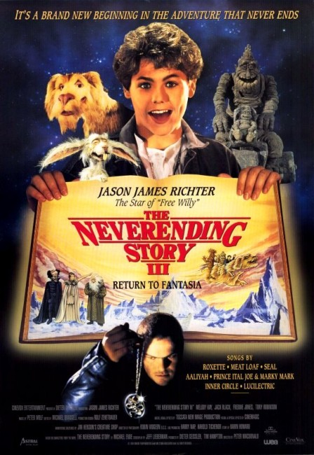 The Neverending Story III (1994) poster