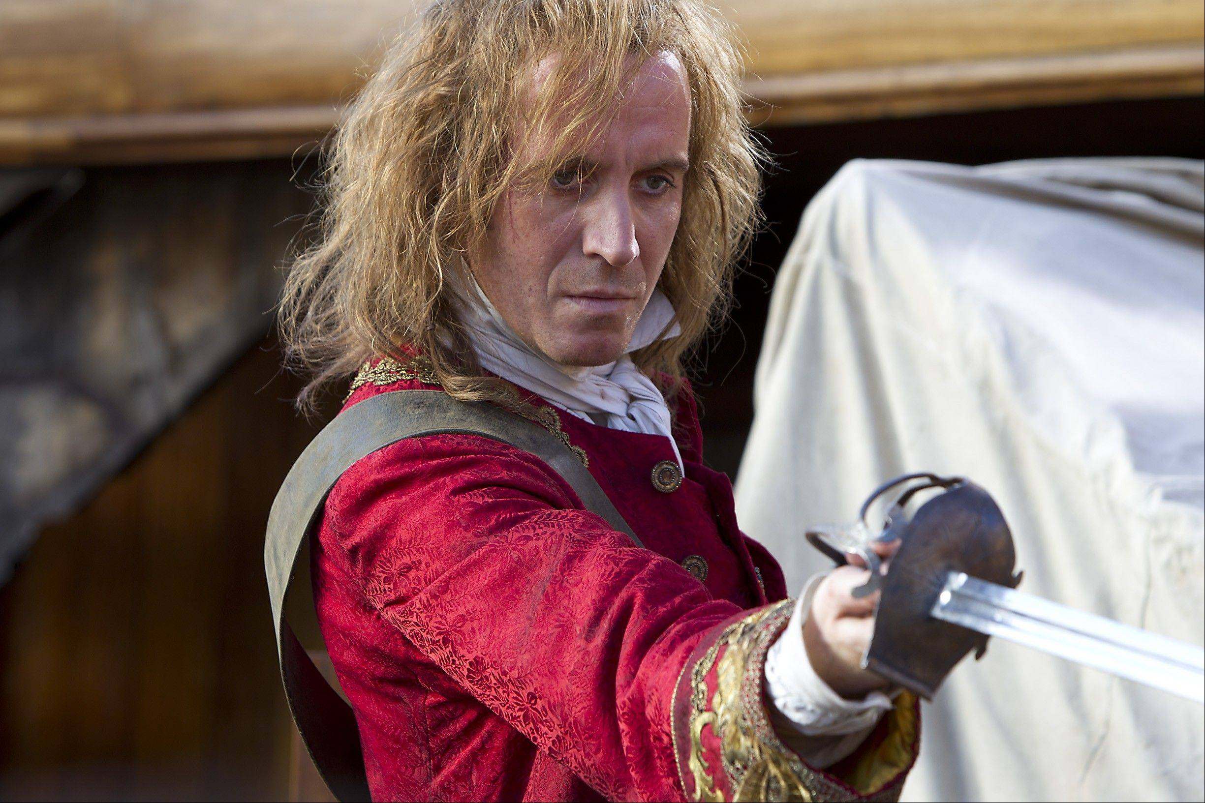 Rhys Ifans as the young Captain Hook in Neverland (2011)