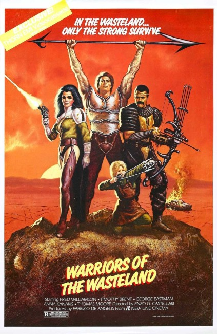 The New Barbarians (1983) poster