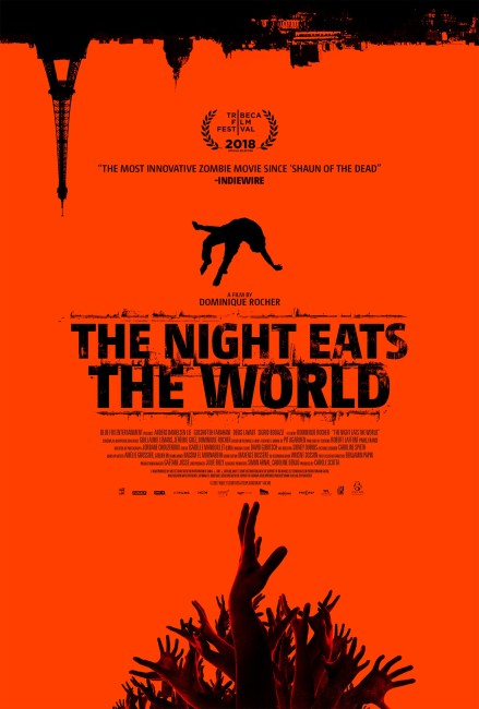 The Night Eats the World (2018) poster
