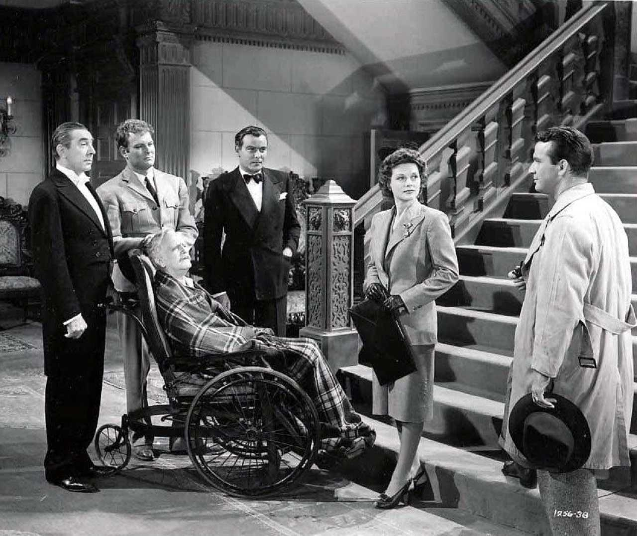 Bela Lugosi, Leif Erickson, Ralph Morgan, Nils Asther, Irene Hervey and Don Porter in Night Monster (1942)