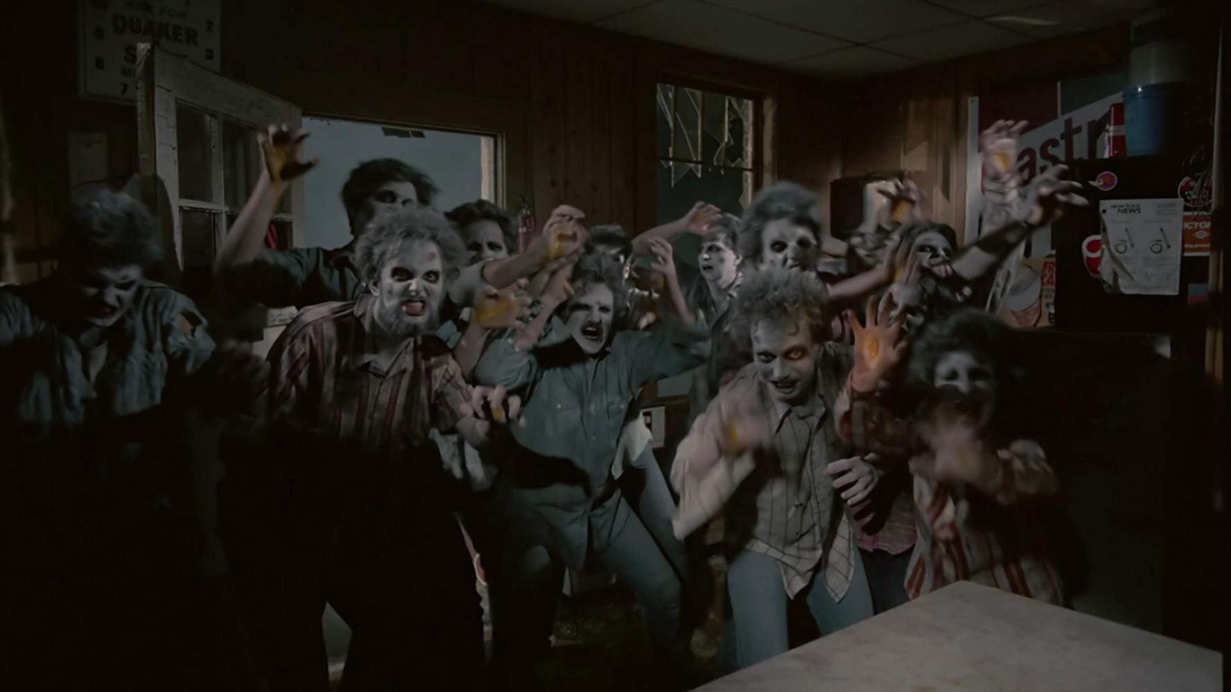 Toxic waste zombies in Mutant/Night Shadows (1984)