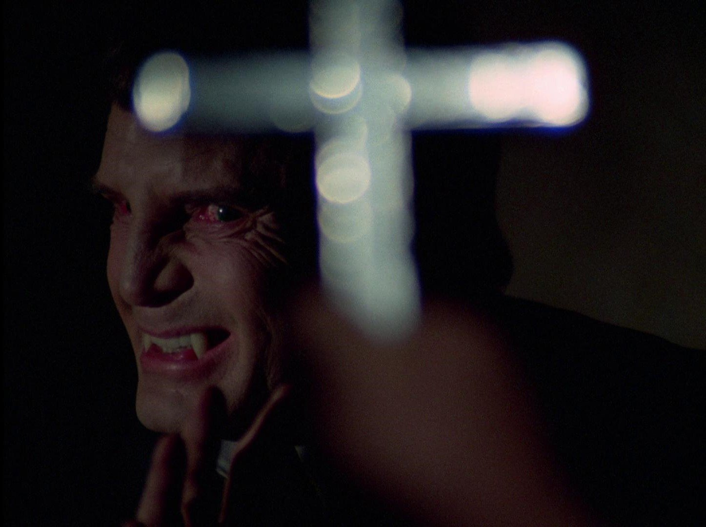 The vampire Janos Skorzeny (Barry Atwater) in The Night Stalker (1972)