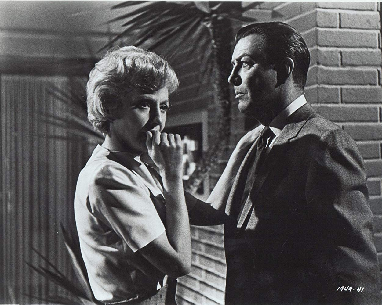 Barbara Stanwyck, Robert Taylor in The Night Walker (1965)