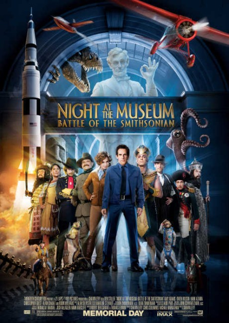 Night at the Museum 2 (2009) poster