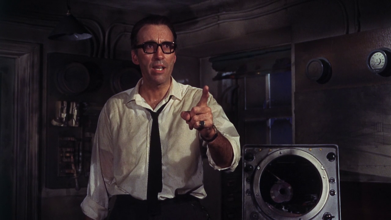 Christopher Lee in Night of the Big Heat (1967)
