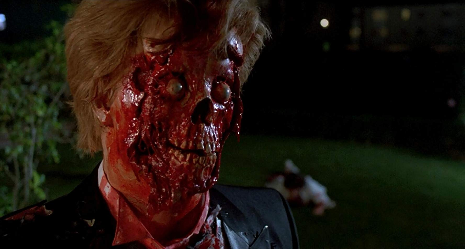 Zombified prom dates in Night of the Creeps (1986)