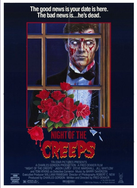 Night of the Creeps (1986) poster