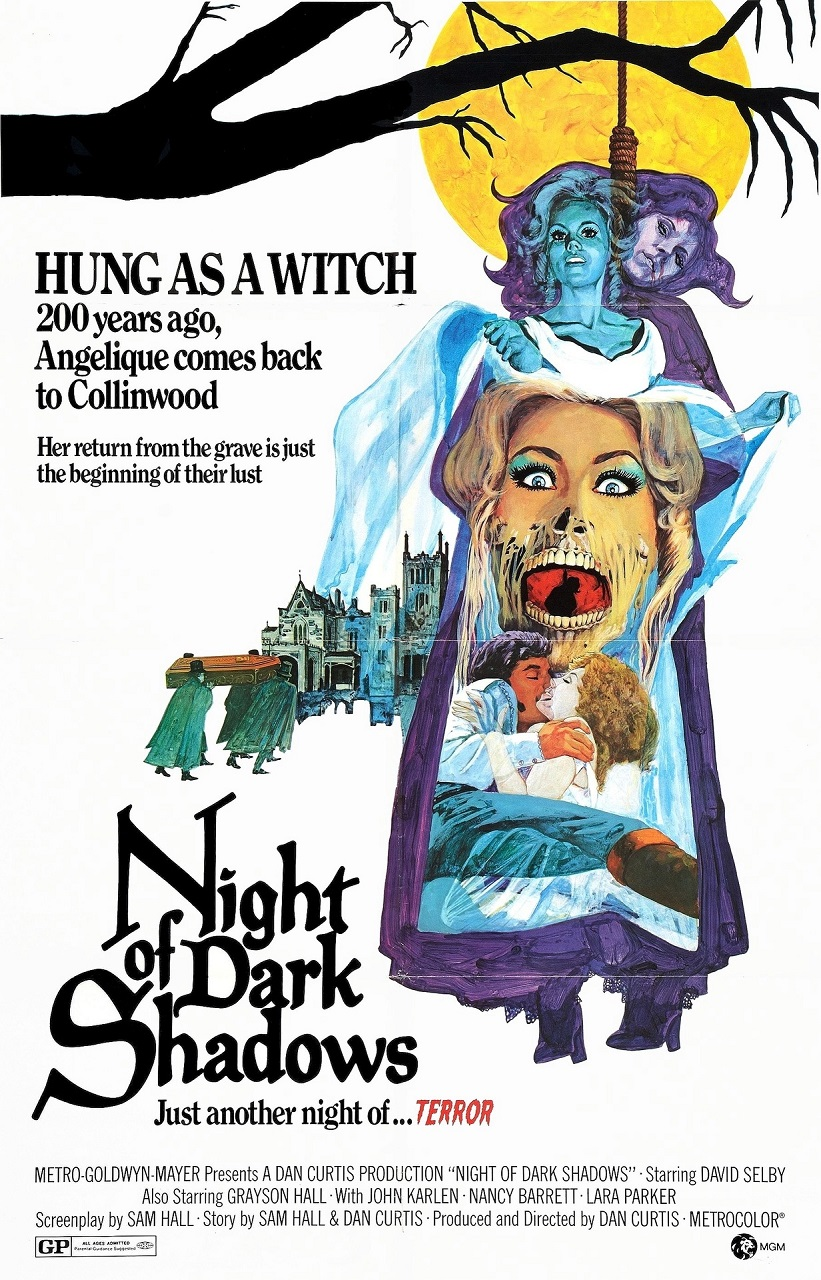Night of the Dark Shadows (1971) poster