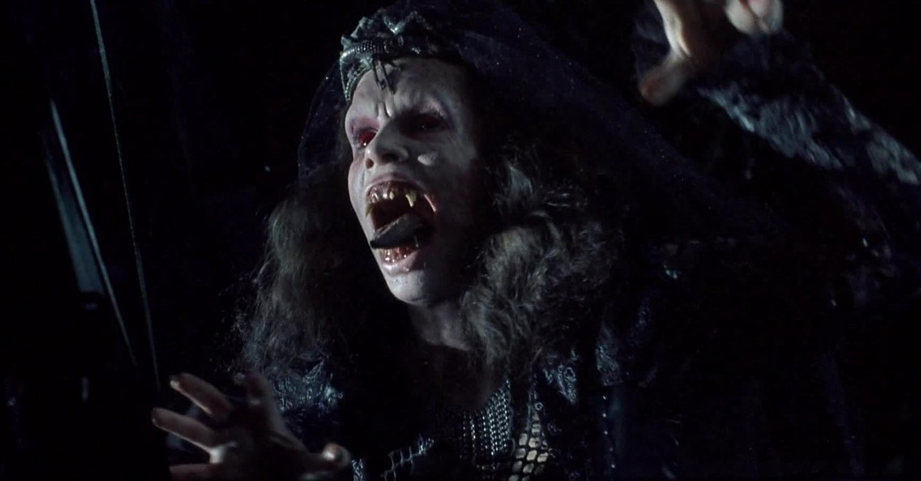 Amelia Kinkaid as Angela in Night of the Demons 2 (1994)