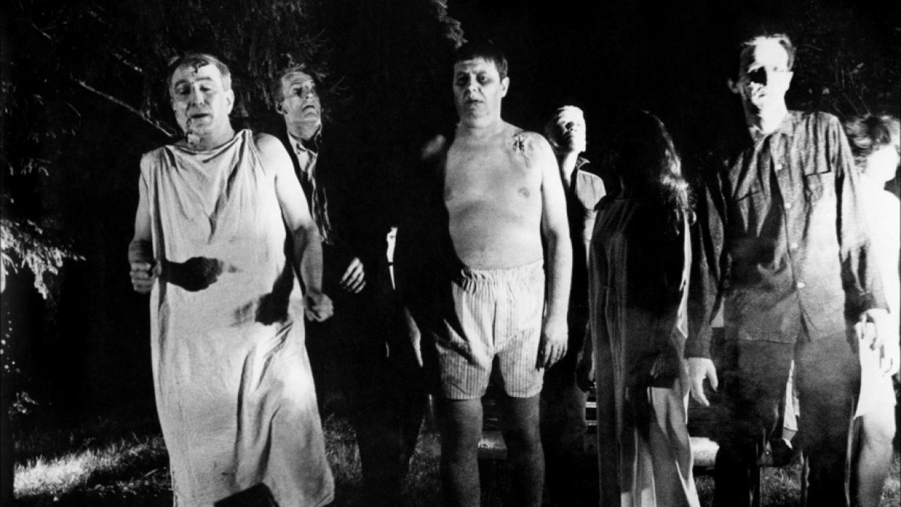 Zombies in Night of the Living Dead (1968)