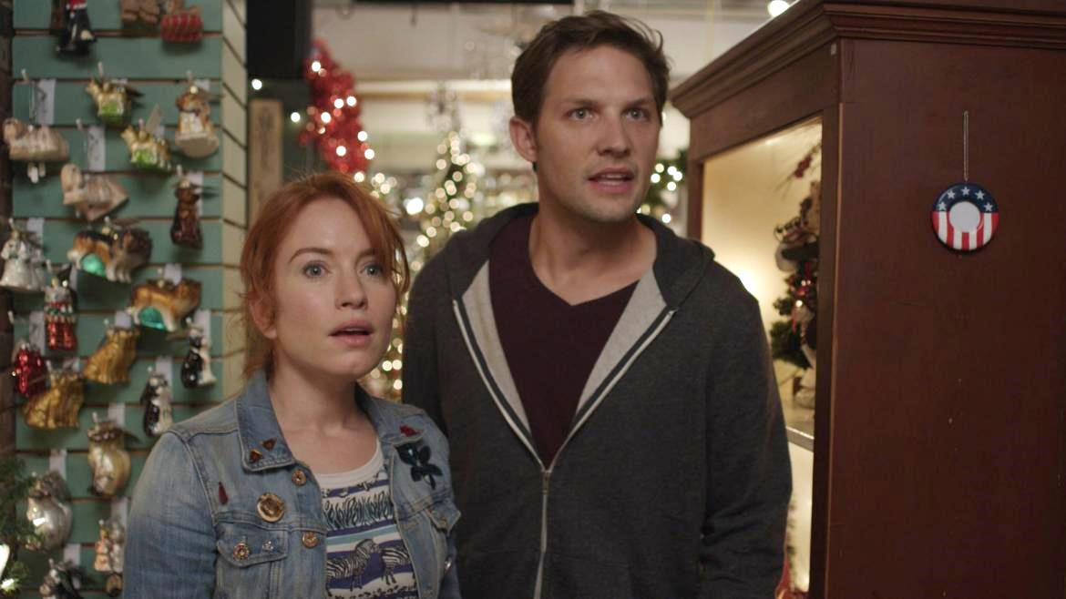 Maria Thayer as Deb with Michael Cassidy in Night of the Living Deb (2015)