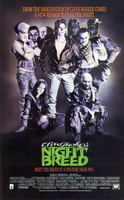 Nightbreed (1990) poster