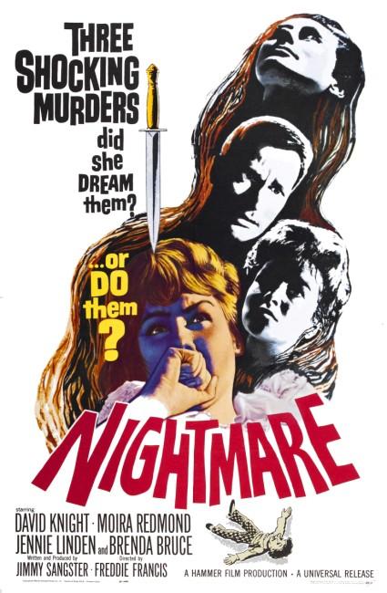 Nightmare (1964) poster