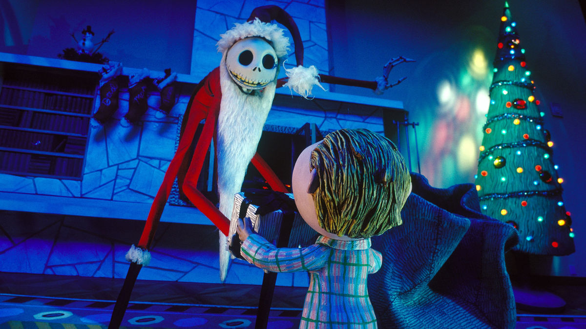 Jack Skellington attempts to become Santa Claus in The Nightmare Before Christmas (1993)