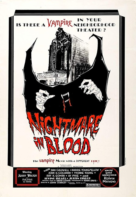 Nightmare in Blood (1977) poster