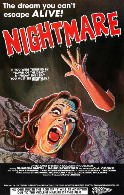 Nightmares in a Damaged Brain (1981) poster