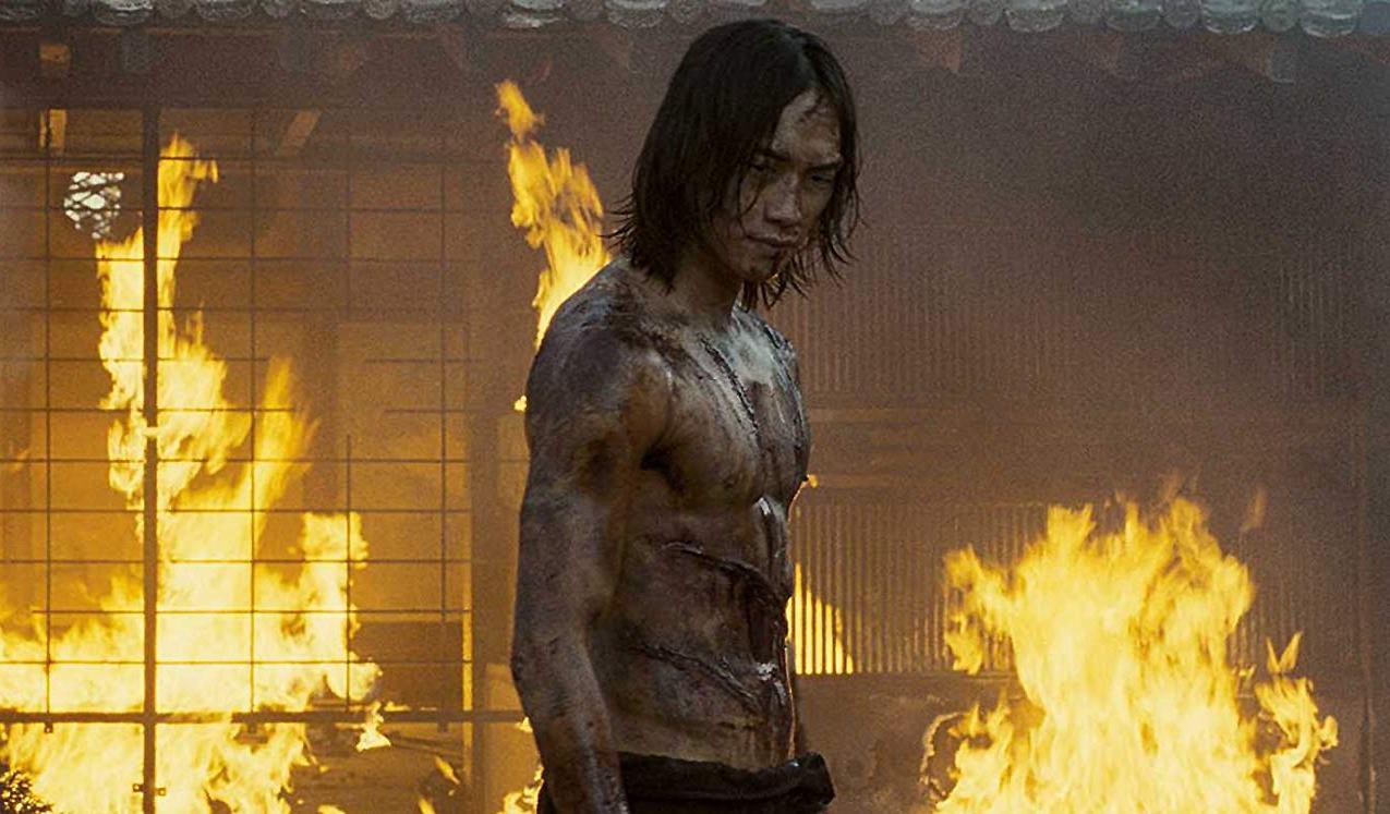 Rain as Raizo in Ninja Assassin (2009)