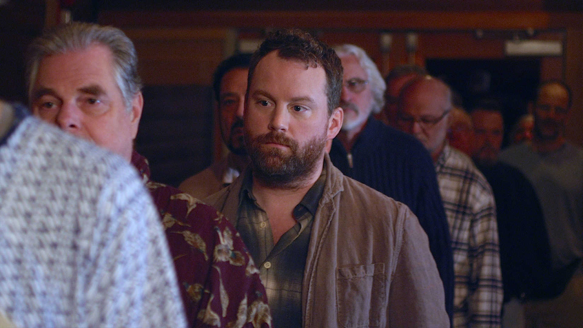 Patrick Gilmore as Andrew Myers in No Men Beyond This Point (2015)