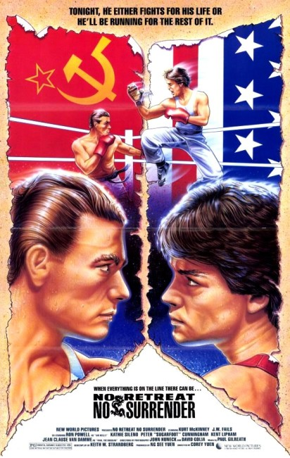No Retreat, No Surrender (1986) poster