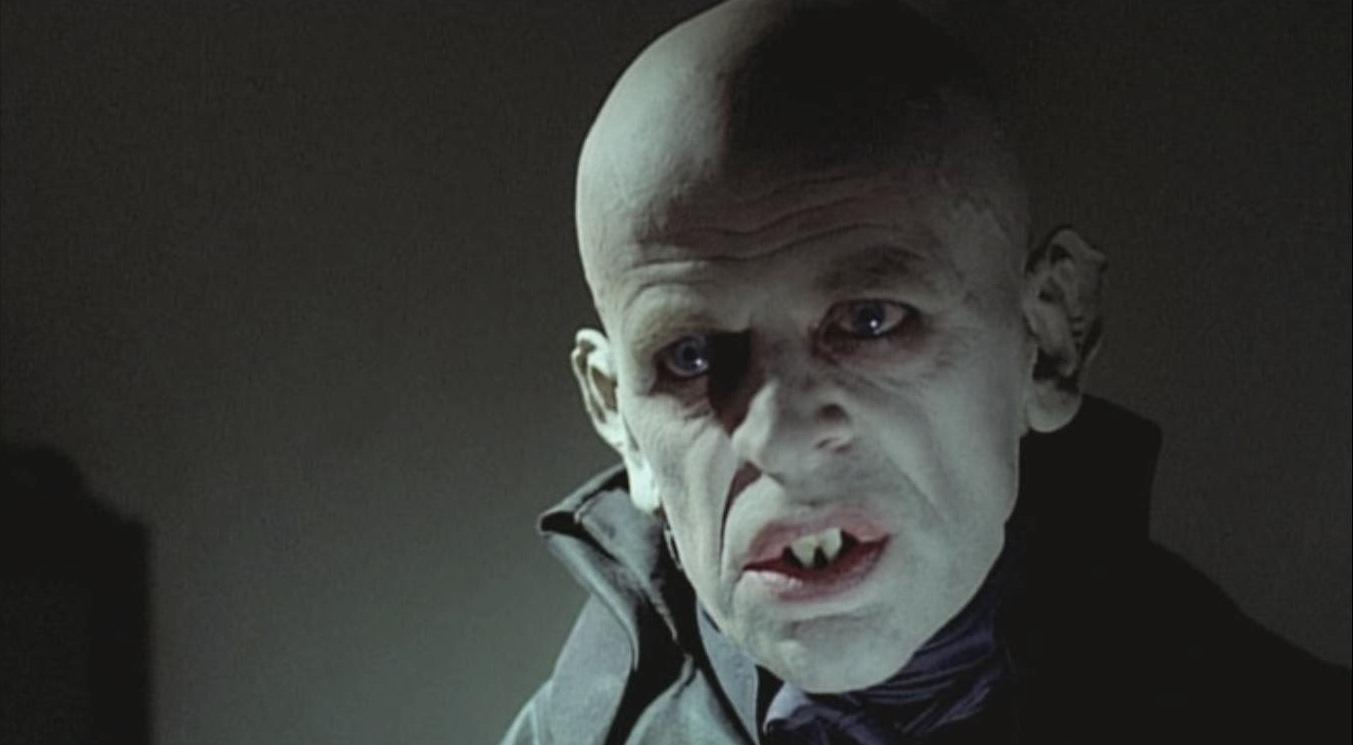 Klaus Kinski as Count Dracula in Nosferatu the Vampyre (1979)